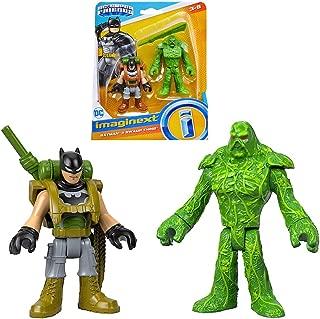 Batman & Swamp Thing DC Super Friends Imaginext Figures 2.5