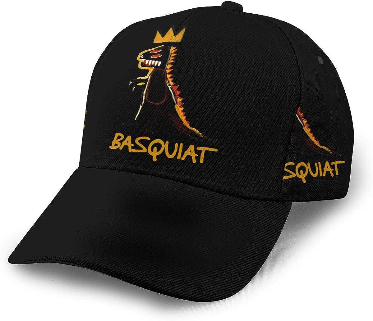 WilliamWButler Jean Michel Basquiat Baseball Cap Trucker Hat Adjustable Fashion Breathable Sports Caps Unisex