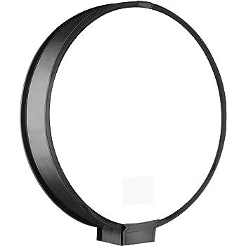 Color : Color3 XIAOMIN 45 cm Round Style Macro and Portrait Softbox Speedlite Flash Light Foldable Diffuser Premium Material