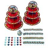 Wilton Paw Patrol Party Supplies Pack, 7-Piece - Paw Patrol Birthday Party Set