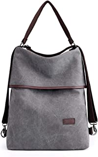 Women's Shoulder Bag,Women's Messenger Bags,Women's Cross-Body Bags,Women's Top-Handle Bags,Multi-Functional Canvas Bag Wild Casual Travel Lady Shoulder Bag