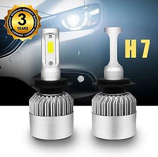 Bombilla H7 LED Coche, Faros Delanteros Bombillas de Coches