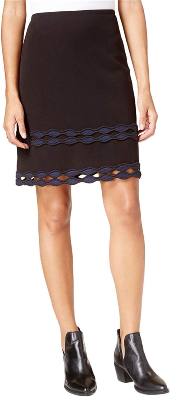 Maison Jules Women's Applique Cutout Skirt