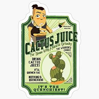 BeliNZStore Drink Cactus Juice Stickers (3 Pcs/Pack)