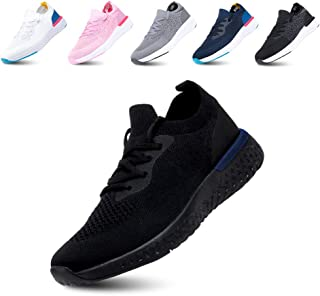 Scarpe Ginnastica Donna Sneakers Uomo Corsa Strada Running All'Aperto Sportive Respirabile Mesh Casual Allacciare Calzatur...