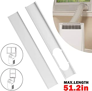 Forestchill Portable A/C Window Kit Replacement Window Adapter Adjustable Window Sealing Plate(51.2in)