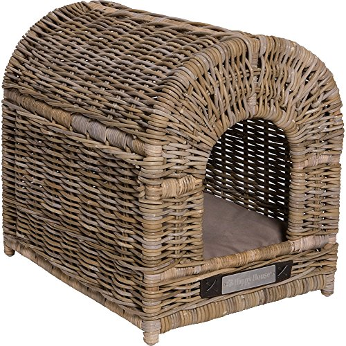 Happy House Rattan Doghouse