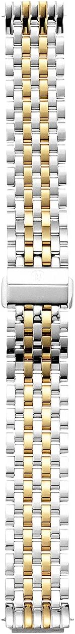 Michele - 16mm Deco II Mid-Size Two-Tone Bracelet