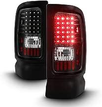 ACANII - For Black 94-01 Ram 1500 94-02 Ram 2500 3500 Pickup LED Tail Lights Lamps Left+Right