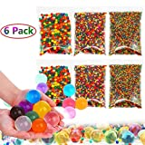 Ronshion Large Water Beads for Kids Non Toxic, Giant Water Beads for Kids Sensory Toys, Wedding Home Decor, Plants Vase Filler, 400pcs Jumbo, 6000 Medium, 20000 Small Beads