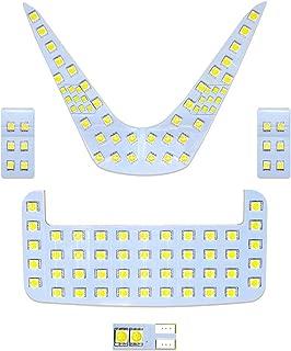 OPPLIGHT C-HR LED ルームランプ 室内灯 純正交換 トヨタ TOYOTA C-HR 専用設計 爆光 ホワイト CHR ZYX10 NGX50用 バニティランプ ラゲッジ カスタムパーツ LED バルブ LEDルームランプ 取付簡単 一年保証 5点セット (トヨタ C-HR 用)