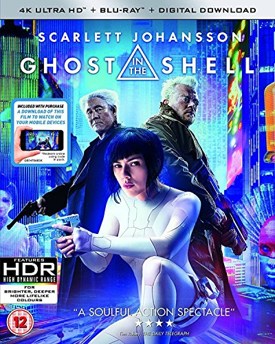 GHOST IN THE SHELL [Blu-ray] [2017] [Region Free]