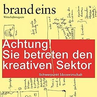 Schreiben tun sie doch alle (brand eins: Kreativer Sektor) Titelbild
