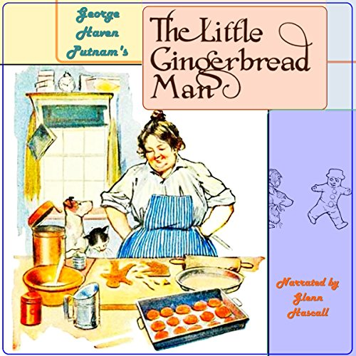 The Little Gingerbread Man audiobook cover art