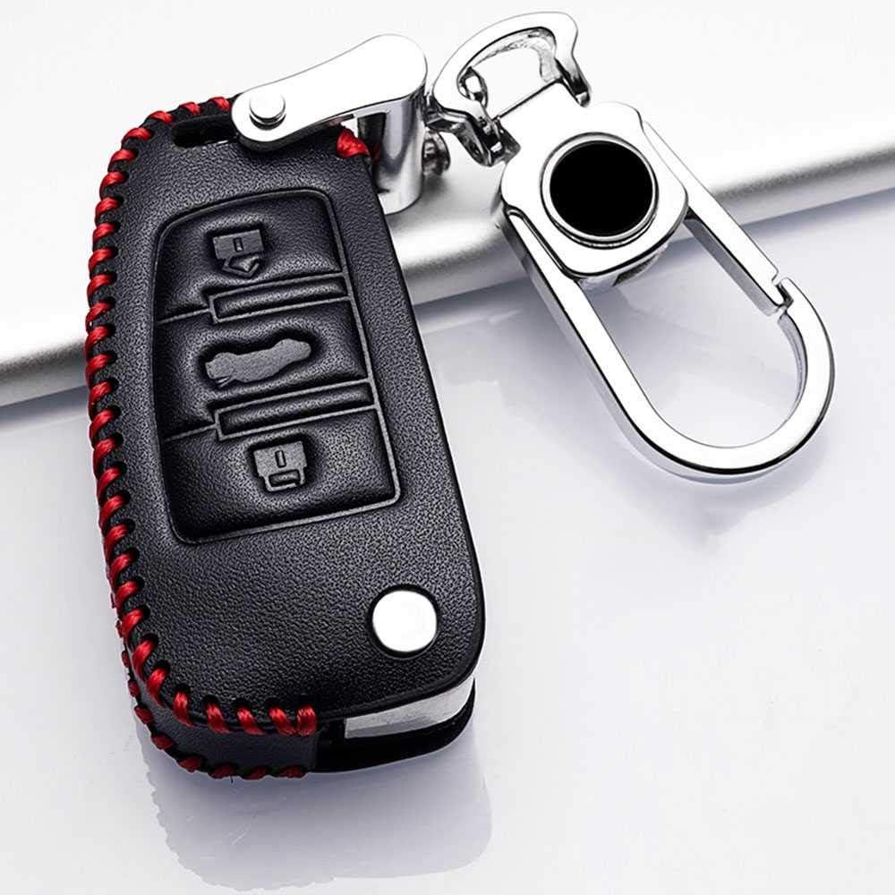 BEKwe Car Key Cover Fit for Atlanta Mall Gorgeous Audi A1 A3 C5 A5 A6 A4 C6 Q7