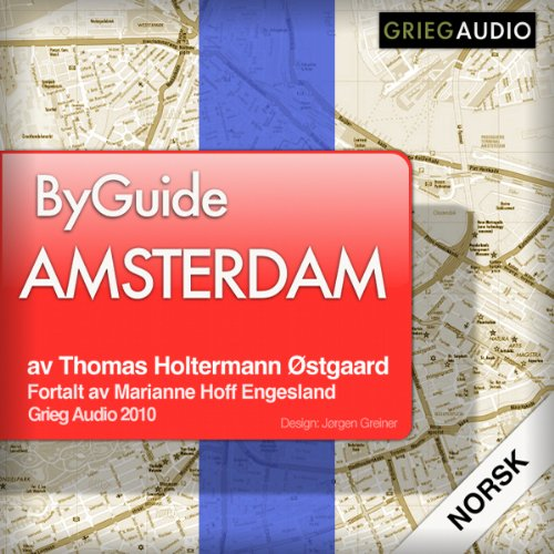 Byguide Amsterdam audiobook cover art