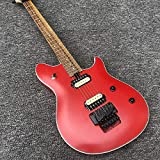 MLKJSYBA Guitarra Guitarra Eléctrica 6 Cuerda De Caoba De Caoba con Maple Mate Rojo Pintura De Guitarra Clásica Guitarras acústicas (Color : Guitar, Size : 40 Inches)