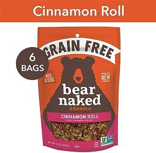 Bear Naked Bear Naked Cinnamon Roll Grain Free Granola -...