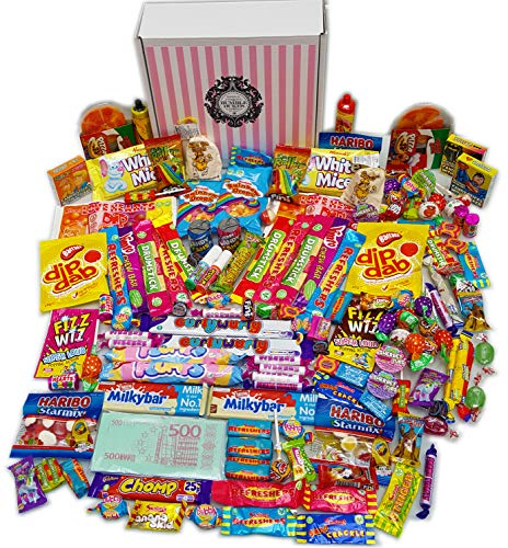 Bumbledukes Great British Sweets Hamper - British Sweets Selection Box. 1.5KG+ of Contemporary & Retro Sweets & Chocolate Sweets