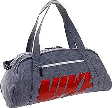 NIKE BA5490 Bolsas de Deporte, Mujer, Blackened Blue/White/University Red, Talla Única