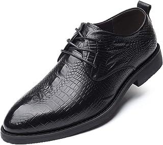 [Donahutt03] ビジネスシューズ レースアップ 豚革 本革 黒靴 出張 ドレスシューズ 通気性 カジュアル 紳士靴 安定性 高級 歩きやすい メンズ 抗菌 革靴 黒 営業マン 通気快適 防滑 足痛くない