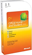 Microsoft Office 2010 Home and Student Product Key Card - Medialess