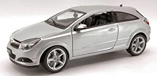 Welly WE0798 Opel Astra GTC 2005 Silver 1:18 MODELLINO Die Cast Model Compatible con