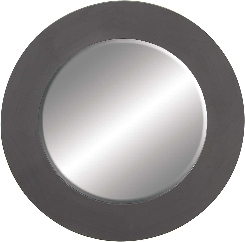 Deco 79 92790 Wall Mirror Black
