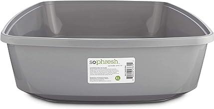So Phresh Gray Open Cat Litter Box, X-Large