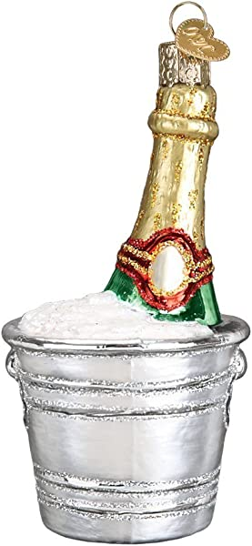 Old World Christmas 32328 Ornament Chilled Champagne
