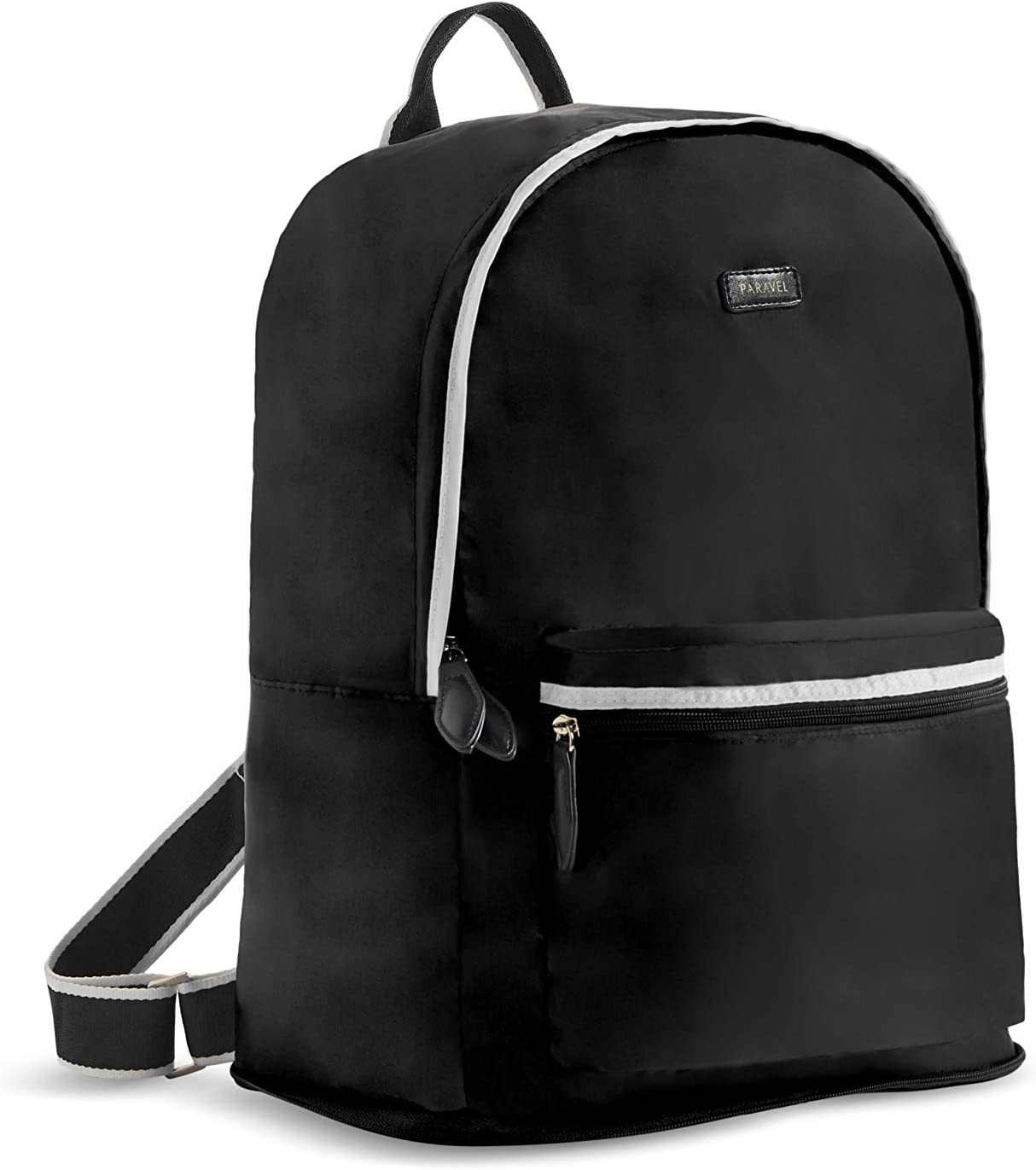 Paravel Foldable Travel Chicago Mall Backpack Derby Weekly update Black Everyday Lightw