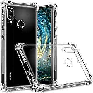 Flexible plastic cover with reinforced ends transparent color Case for Huawei P20 / P20 Pro / P20 Lite (Nova 3E) (P20 Lite...