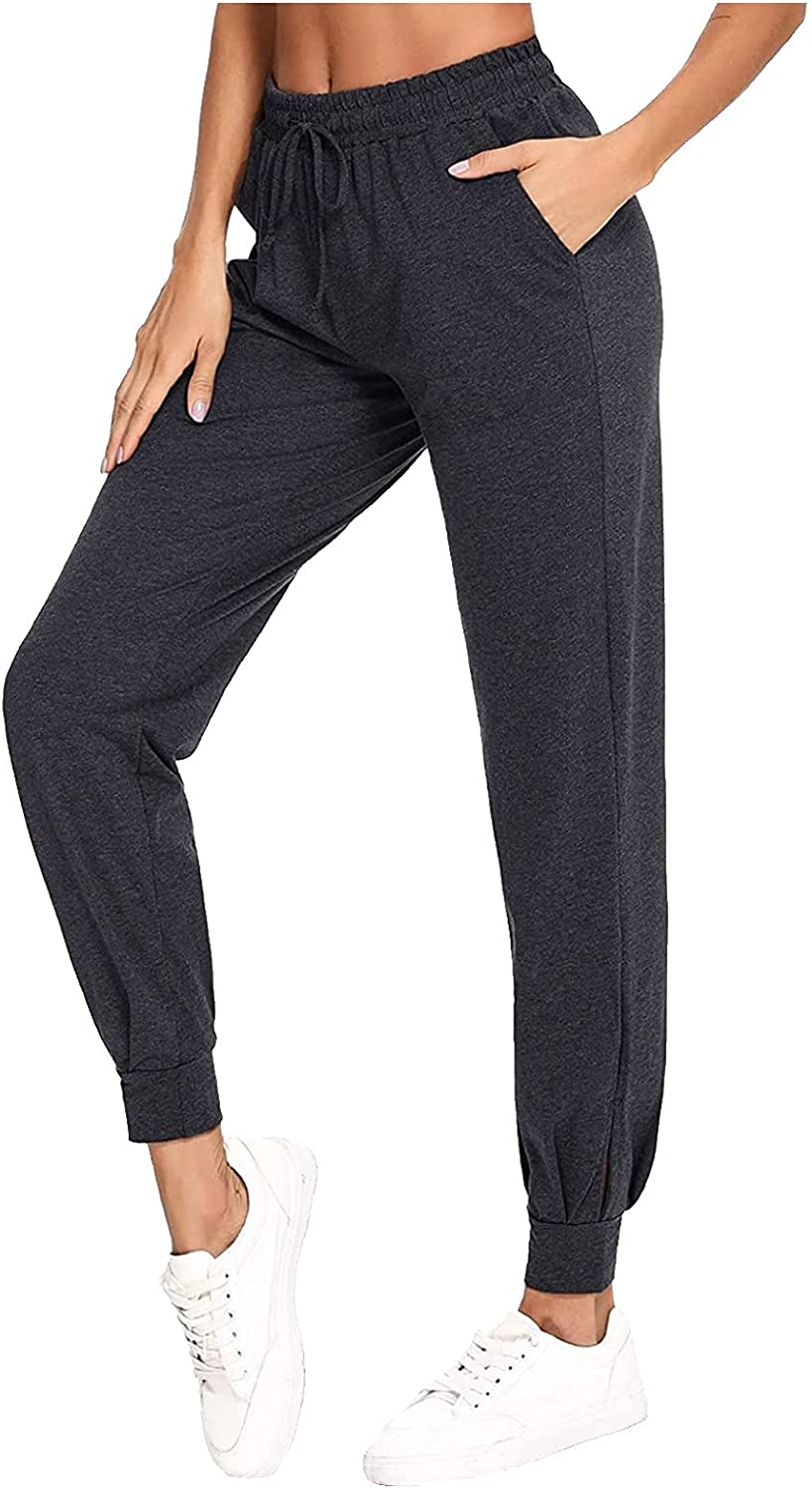 ZAKIO 2021 Lounge Joggers for Women Yoga Pants Loose Workout Sweatpants Comfy Athletic Active Trousers with Pockets