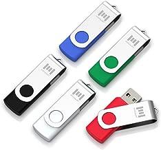 5 X MOSDART 8GB USB2.0 Flash Drive Swivel Bulk Thumb Drives Memory Sticks Jump Drive Zip..