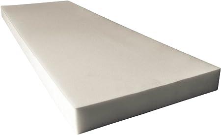 Upholstery Foam Cushion 3 H x 24 W x 72 L Made in USA AK TRADING CO High Density Polyurethane Foam Sheet