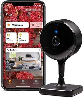 Eve Cam – Smarte Innenkamera, 1080p-Auflösung, WLAN, 100% Privatsphäre, HomeKit..