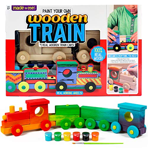 Made By Me Wooden Train by Horizon Group USA