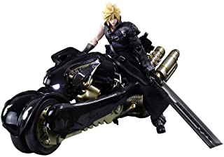 Square Enix Figura Cloud Strife & Motocicleta 28 cm. Fantasy VII: Advent Children. Play Arts Kai