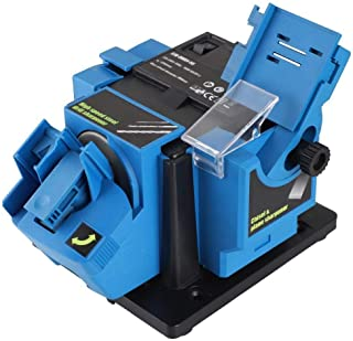 Enrilior Household Electric Cutter Scissor Sharpener Multifunctional Sharpening Tool (US Plug 110V)