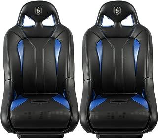 Pro Armor G2 Front Seat Blue 2008-2019 Polaris RZR 1000 900 S XP 4 Turbo, 2 Pack