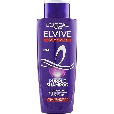 L'Oréal Paris Shampoo Antigiallo Color Vive Purple, 200ml