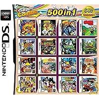 CMLegend 500 Juego en 1 NDS Game Lot Card Super Combo Cartridge para DS 2DS Nuevo 3DS XL