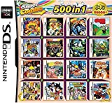 CMLegend 500 Juego en 1 NDS Game Lot Card Super Combo Cartridge para DS 2DS Nuevo 3DS XL