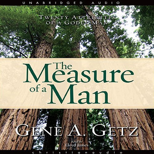 Measure of a Man audiobook cover art