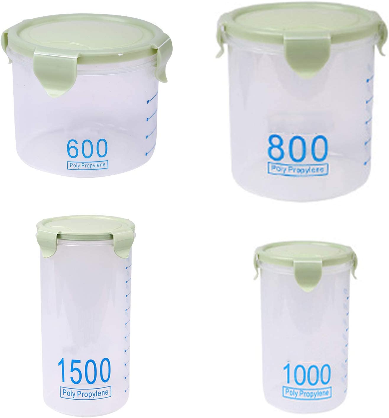 Food Storage safety Containers with Kitchen Airtight Lids Organization Portland Mall