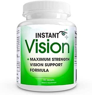 Instant Vision Maximum Strength Vision Support Formula Dietary Supplement, 60 Capsules