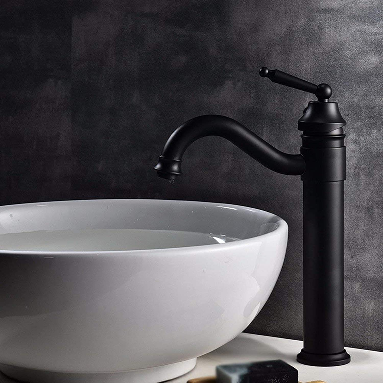 Oudan European style retro style copper bathroom bathroom Wash basin Sink faucet