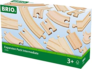 BRIO World Railway Track Expansion Pack - Intermediate