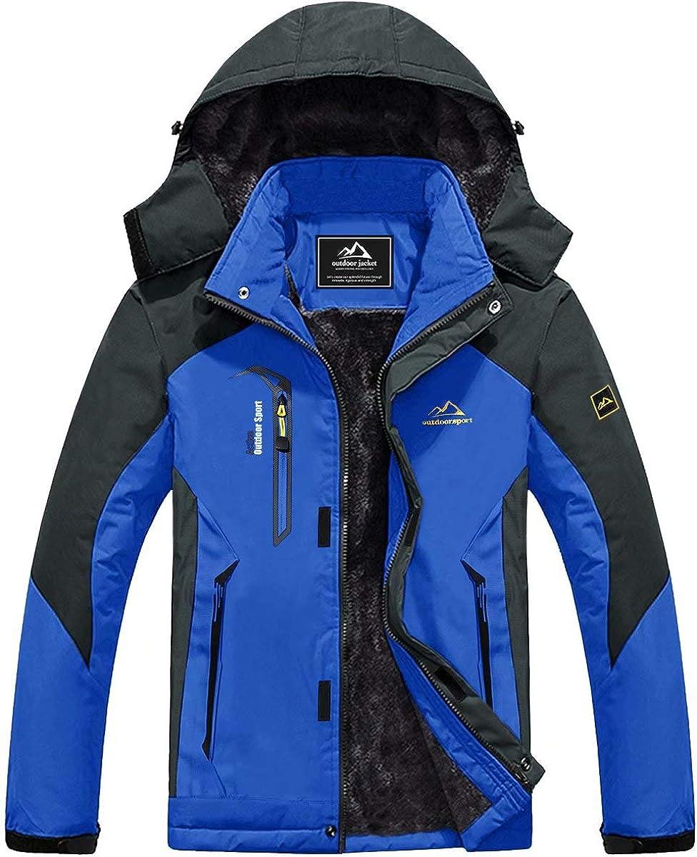 MAGCOMSEN Phoenix Mall Men's Winter Coats Waterproof Fle Jacket Warm Snow Ski Popular product