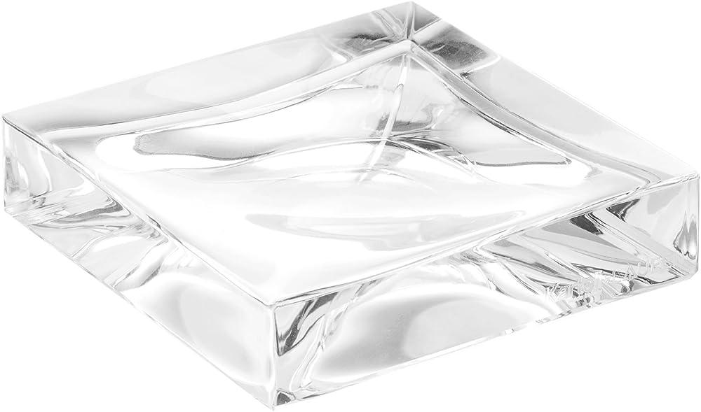Kartell boxy porta sapone, trasparente 09963B4